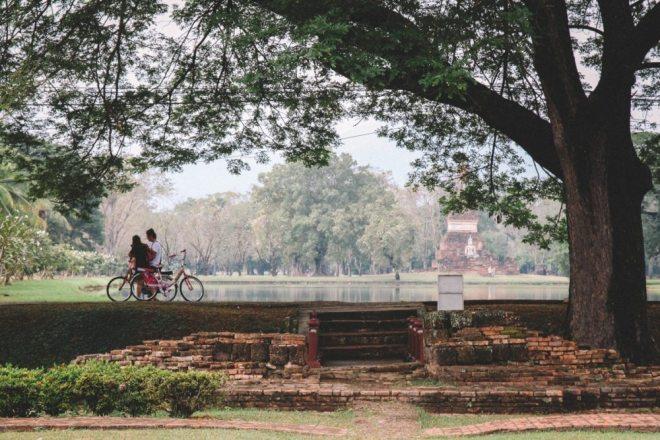 Thailands Norden: Tempelruinen im Sukhothai Historical Park