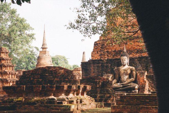 Thailand Tipps für den Norden: Tempel im Sukhothai Historical Park