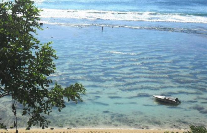 Bilderbuch pur am Strand Padang Padang Original (Bali)