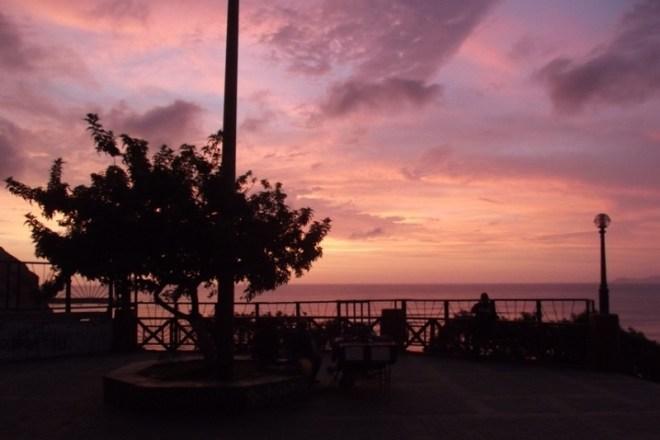 Sonnenuntergang in Barranco, der alternativste Stadtteil und somit eine tolle Sehenswürdigkeit in Lima
