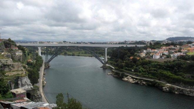 Ausblick Porto Portugal