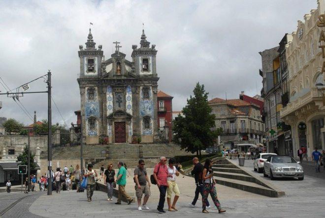 Porto Innenstadt Portugal - Church of Saint Ildefonso