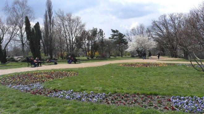 Frühling zu Ostern in Budapest: Gellert-Berg