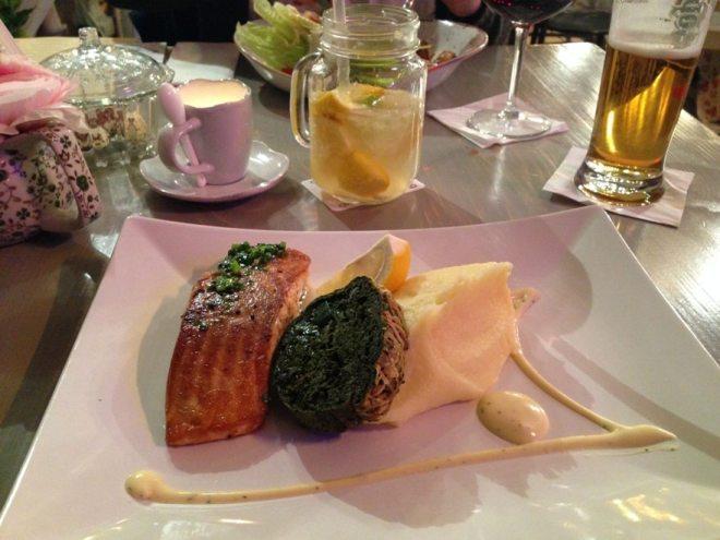 Gutes Essen im Vintage Garden - Restauranttipp Budapest