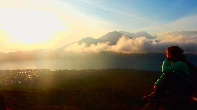 Der Vulkan Agung auf Bali