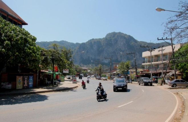 Ao Nang in Krabi, Thailand: Schöne Felsen