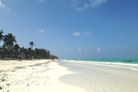 Wunderschöner Strand in Paje auf Sansibar