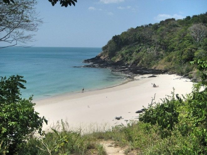 Hello you beautiful beach: Der Nui Beach ist einer meiner Lieblingsstraende Koh Lantas (bei Google: Nui Bay Beach)