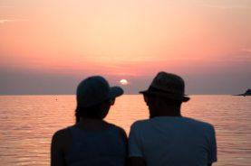 Rovinj-Tipp: Sonnenuntergang am Hafen