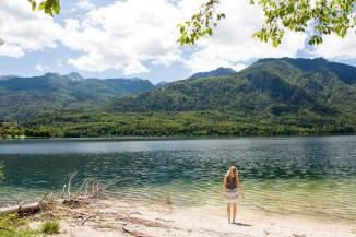 Lake Bohinj - traumhaft schöner See in Slowenien