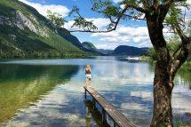 Lake Bohinj in Slowenien - toller Insidertipp für eine Rundreise