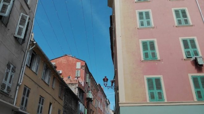 Backpacking Korsika: Start in Bastia