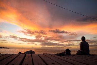 Magische Sonnenuntergänge auf der Isla Holbox in Mexiko