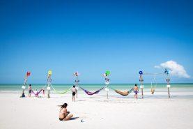Isla Holbox Mexiko - wunderschöner Strand beim Start unserer Weltreise
