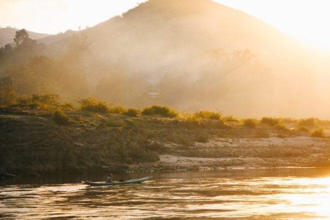 Laos Backpacking Route - Tipp: Mit dem Slowboat von Houay Xai nach Luang Prabang