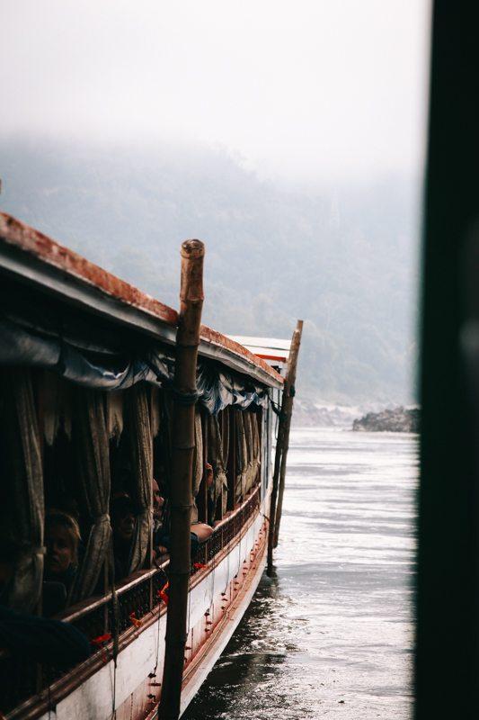 Laos Backpacking Route: Mit dem Slow Boat von Pak Beng nach Luang Prabang