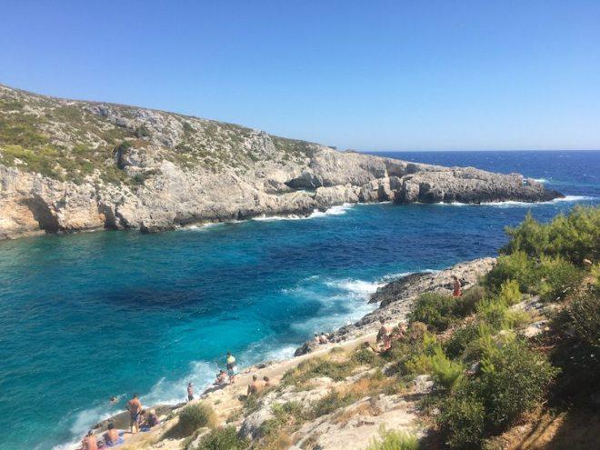 Porto Limnionas gehört zu den schönsten Orten auf Zakynthos
