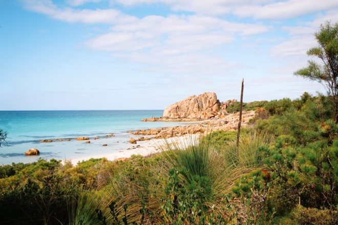 Westaustralien Route im Süden - Roadtrip Highlight Castle Bay am Cape Naturaliste