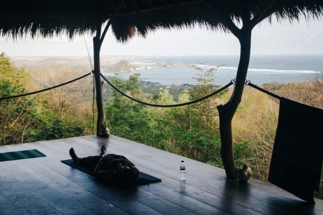 Yoga in Kuta auf Lombok im Ashtari