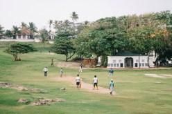Backpacking Sri Lanka heißt auch Cricket-Spiel zuschauen