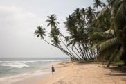 Kilometerlange Strände bei Unawatuna im Süden von Sri Lanka