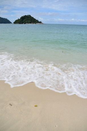 Türkises Wasser an der Westküste Malaysias: Hier auf Pangkor