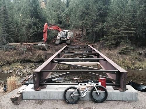 Elk Valley Nordic Centre bridge