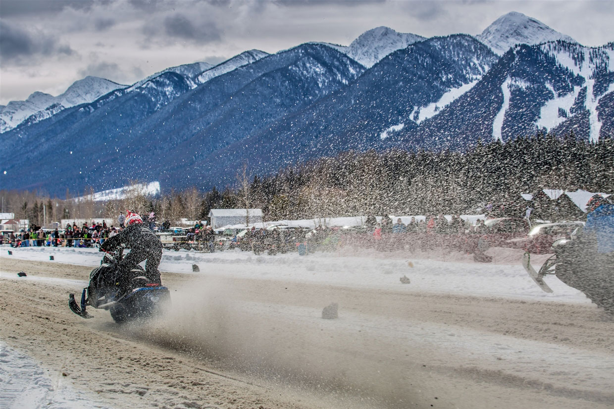 Fernie Snow Drag Races