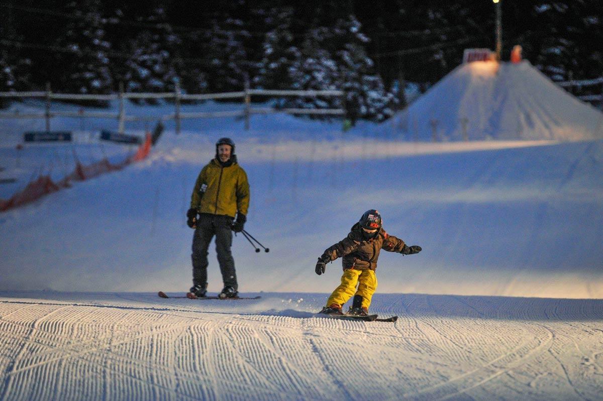 Fernie Night Skiing