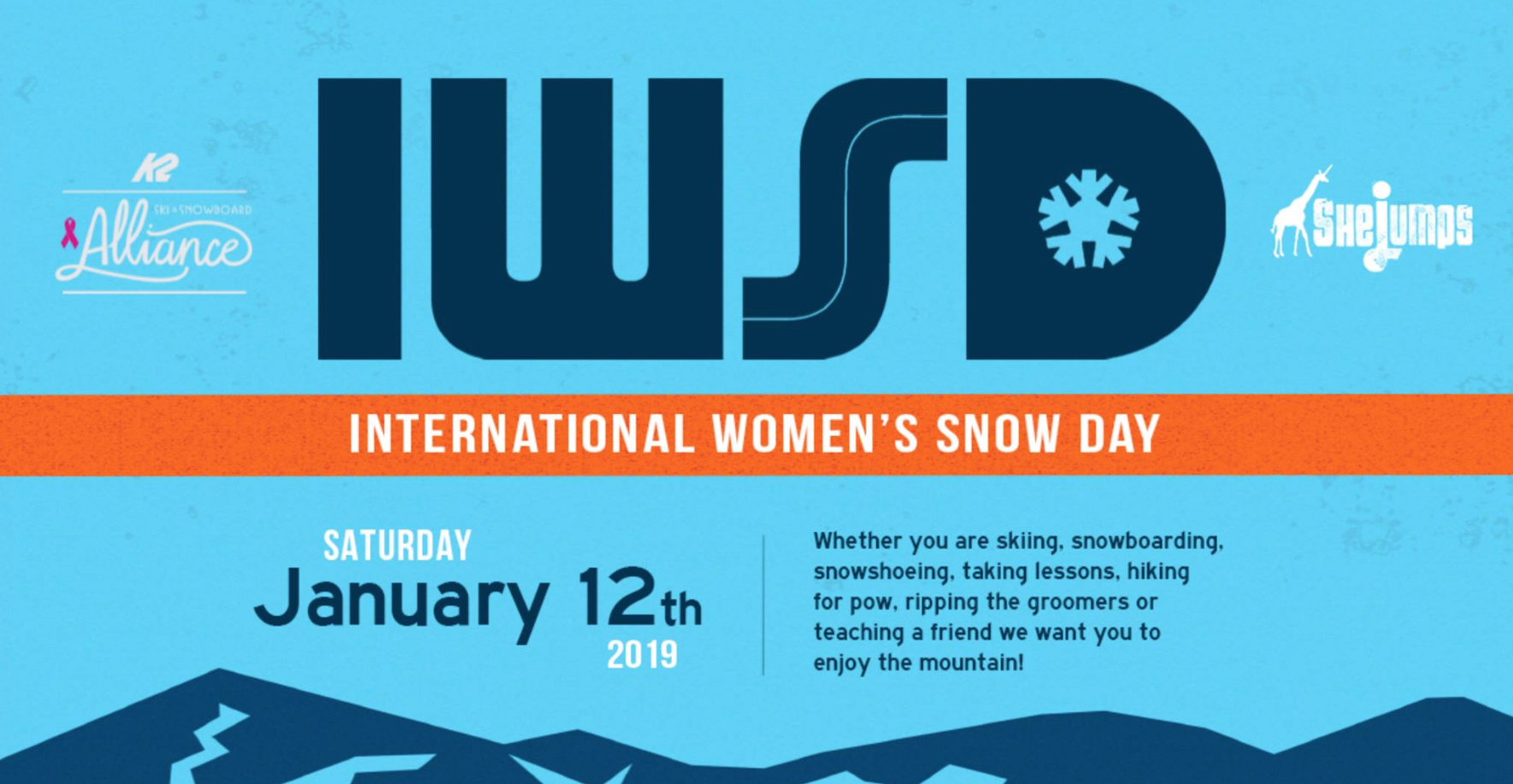 International Women's SNOW Day