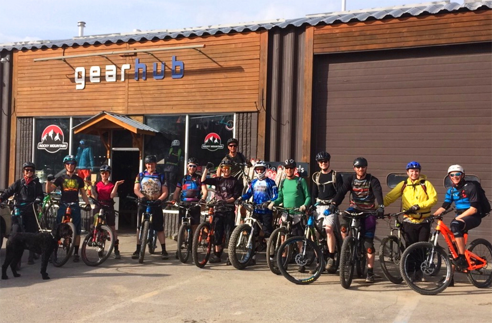 Gearhub Group Rides