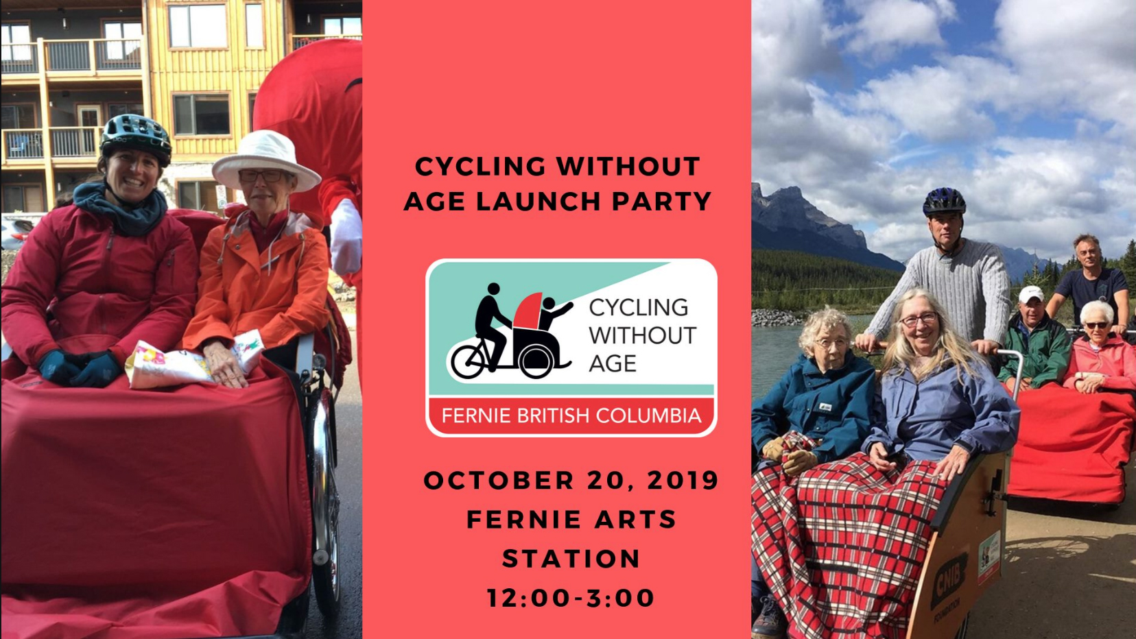 Cycling Without Age Fernie Launch