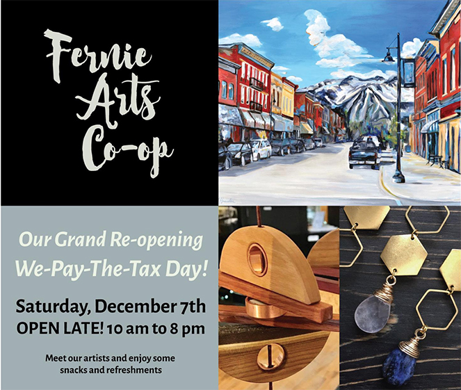 Fernie Arts Coop Grand Re-opening