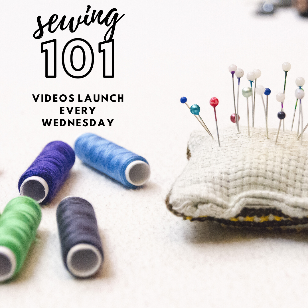 Sewing 101 Tutorials