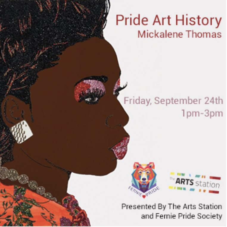 Pride Art History and Pride Art On The Deck