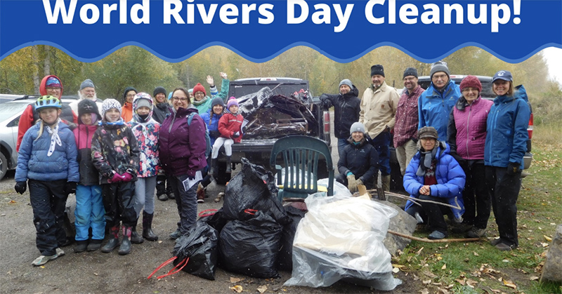 Celebrate World Rivers Day with ERA's annual Shoreline Cleanup