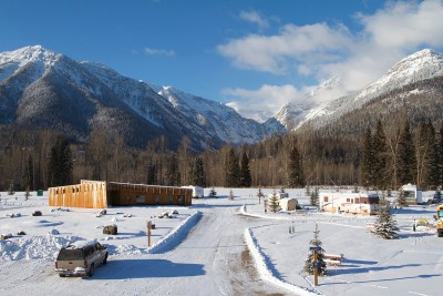 Fernie RV Resort Fairy Creek view LR