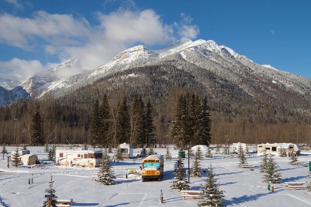 Fernie RV Resort Mt Proctor LR