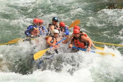 Fernie River Rafting