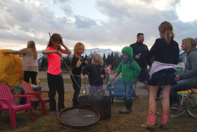 Fernie Rv Resort Kids fire