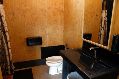 Washroom interior