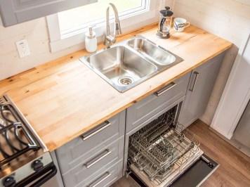 Fernie tiny home kitchen