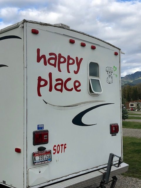 Sisters happy place RV