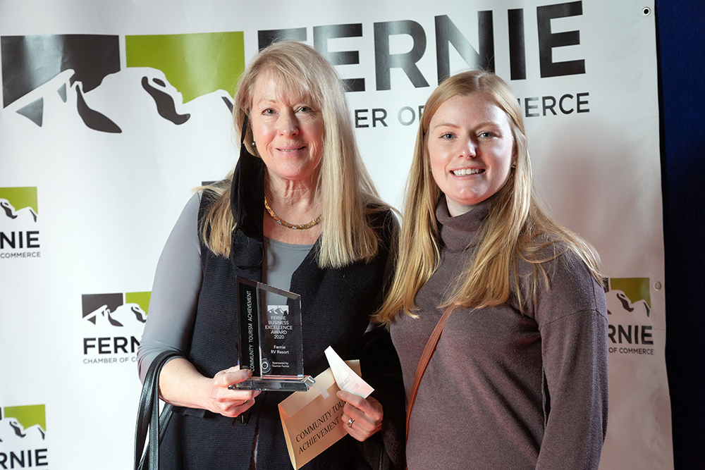 FRVR receives the Community Tourism Achievement Award