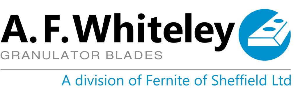 A.F. Whiteley granulator blades - UK manufactured granulator blades, supplied internationally to the plastics and recycling industries