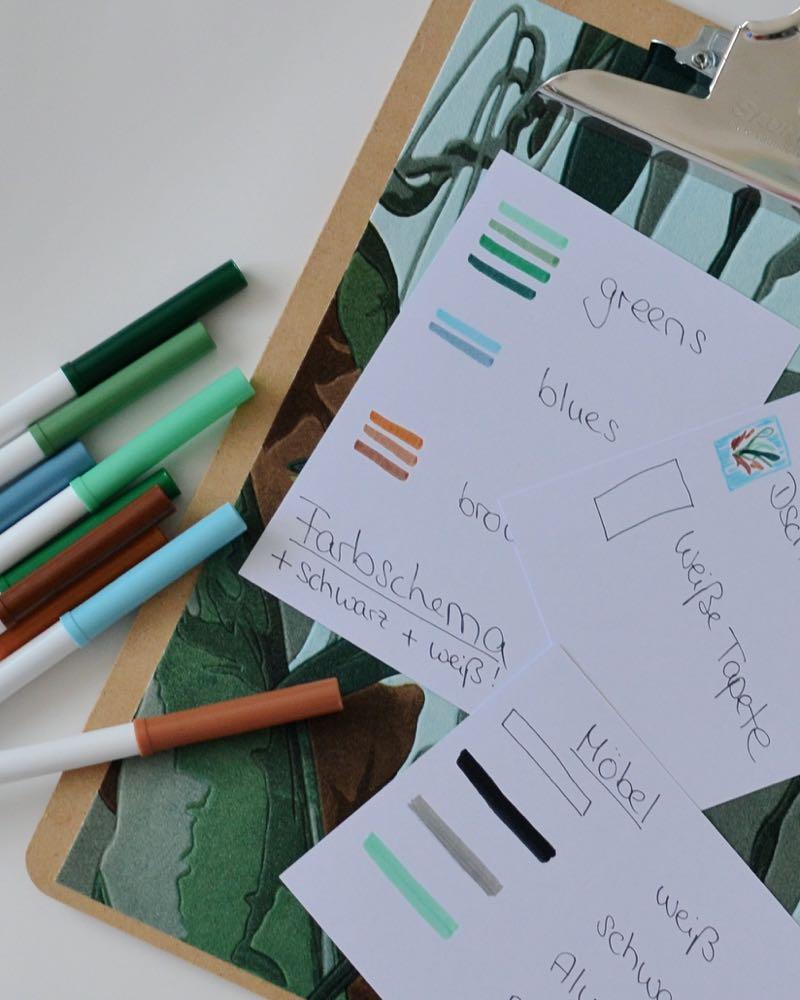 Farbschema für Renovierung