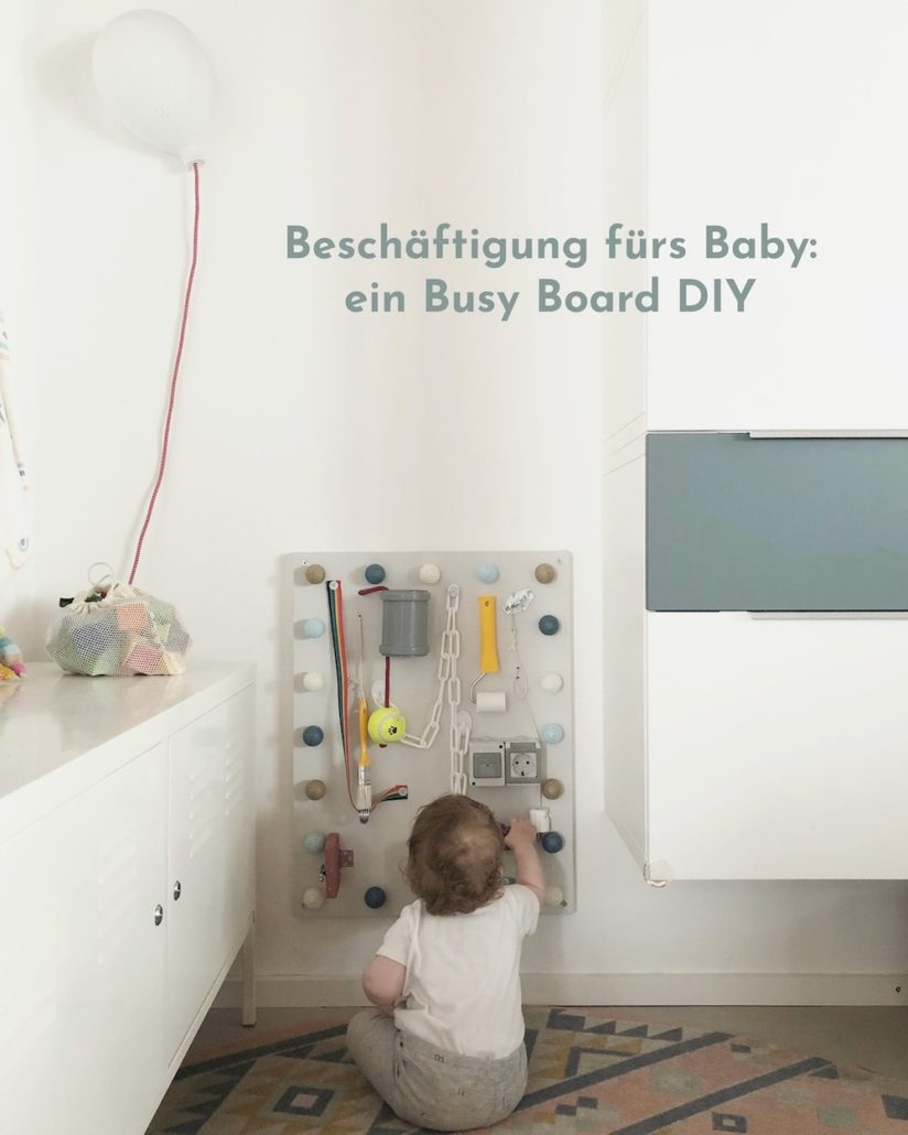 Baby Busy Board DIY