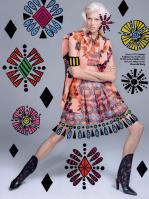Devon Windsor photographed by Jacques Dequeker for Vogue Brazil September 2014 x2