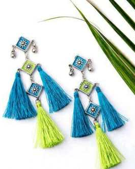 Artificial Beads Earring