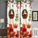 Latest Christmas Curtains & Sheers